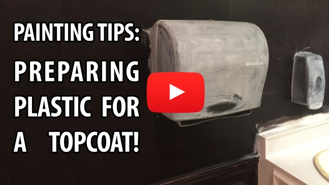 painting tips-plastic painting