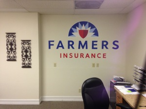 artistic gold murals for businesses